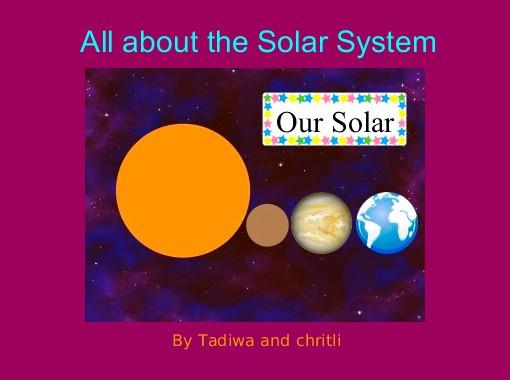 solar system abc book - photo #38
