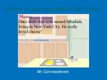 Listen to your parents! A Rat Story