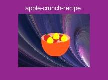 apple-crunch-recipe