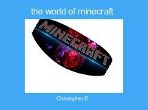 the world of minecraft