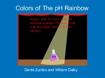 Colors of The pH Rainbow