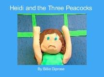 Heidi and the Three Peacocks