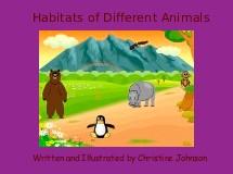 Habitats of Different Animals