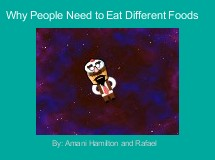 Why People Need to Eat Different Foods
