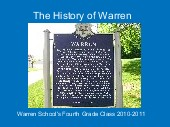 The History of Warren