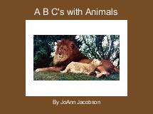 A B C's with Animals