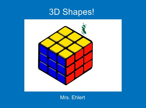 3d Shapes Free Books Children 39 S Stories Online