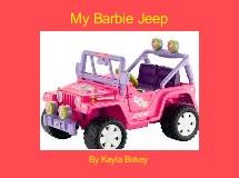 My Barbie Jeep