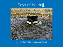 Days of the Hajj