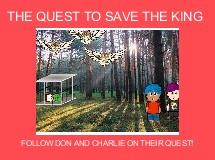THE QUEST TO SAVE THE KING