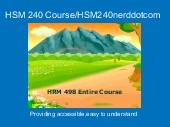 HSM 240 Course/HSM240nerddotcom