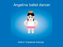 Angelina ballet dancer