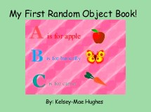 My First Random Object Book!
