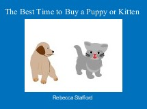 The Best Time to Buy a Puppy or Kitten