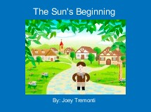 The Sun's Beginning