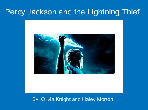Percy Jackson And The Lightning Thief Free Books Children