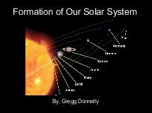 solar system formation animation - photo #19