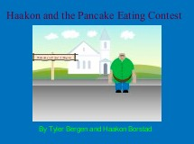 Haakon and the Pancake Eating Contest