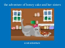 the adventure of honey cake and her sisters