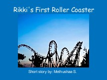 Rikki's First Roller Coaster