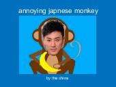 annoying japnese monkey