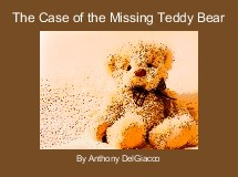 The Case of the Missing Teddy Bear