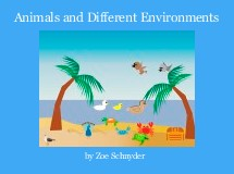 Animals and Different Environments