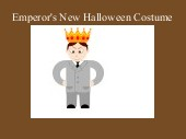 Emperor's New Halloween Costume