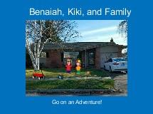 Benaiah, Kiki, and Family