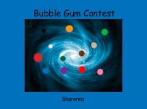 Bubble Gum Contest