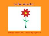 La flor sin color