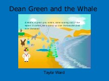 Dean Green and the Whale
