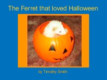 The Ferret that loved Halloween