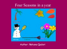 Four Seasons in a year