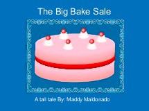 The Big Bake Sale