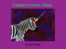 Captain Unicorn Zebra