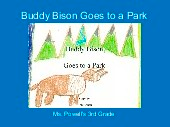 Buddy Bison Goes to a Park