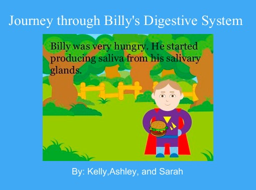Journey through Billy\'s Digestive System\