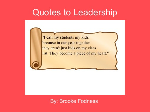 Quotes To Leadership Free Books Children's Stories Online Impressive Quotes About Stories