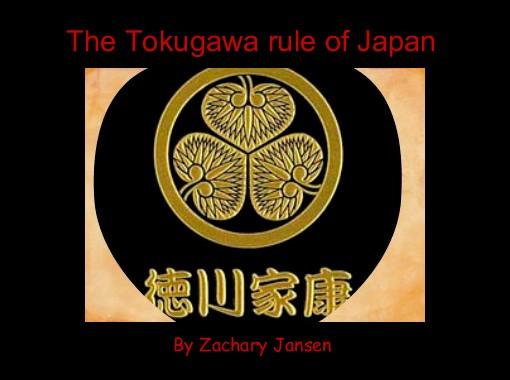 tokugawa rule