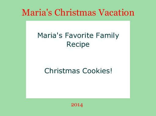 marias christmas vacation free books childrens stories online storyjumper