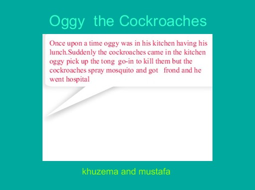 Quot Oggy The Cockroaches Quot Free Books Amp Children S Stories
