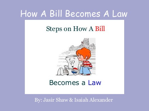 Quot How A Bill Becomes A Law Quot Free Books Amp Children S