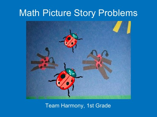 Math Picture Story Problems\