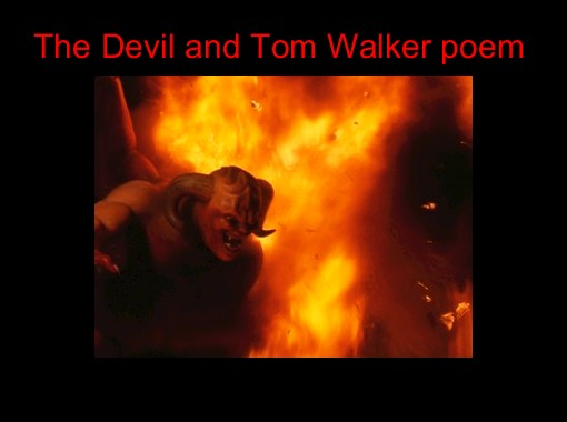 the devil and tom walker essay prompts The early romantics the devil and tom walker short story by washington irving did you know washington irving • was a spectator at the trial of aaron burr.