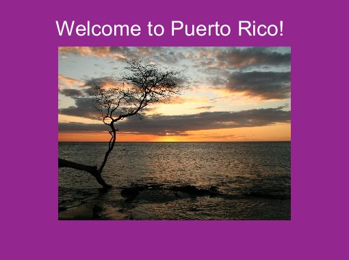 Quot Welcome To Puerto Rico Quot Free Books Amp Children S