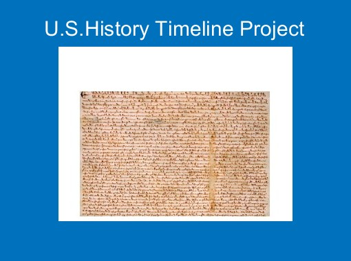u s history timeline project free books children s stories