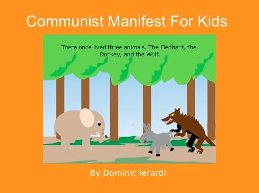 Communist Manifest For Kids Free Books Childrens