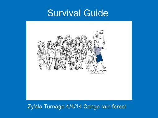 survival guide essay article