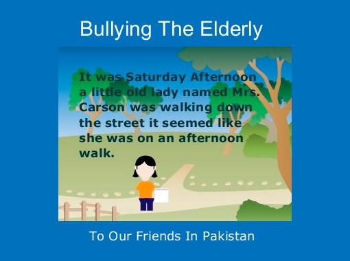 Quot Bullying The Elderly Quot Free Books Amp Children S Stories